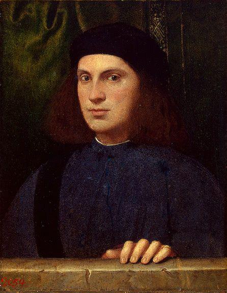 Portrait of a Young Man , 1510s Bonifazio Veronese (Bonifazio de Pitati). Hermitage | Flickr - Photo Sharing!