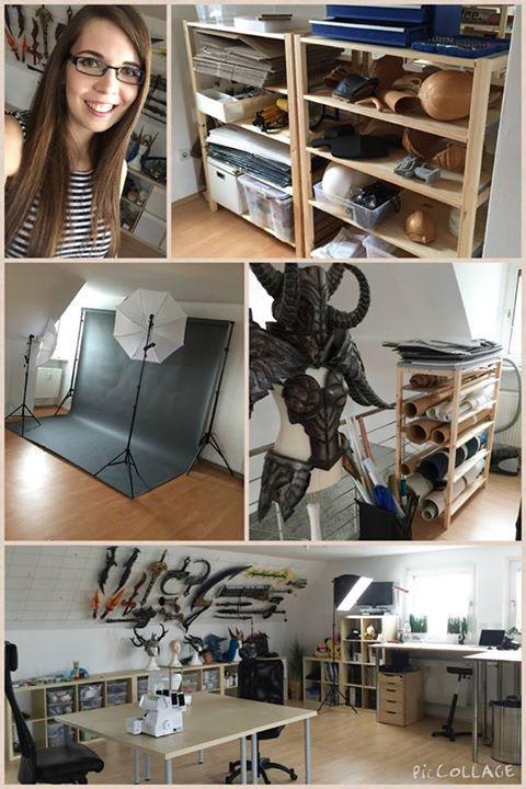 Kamui Cosplay S Amazing Workshop In 2019 Craft Room Organisation Sewing Room