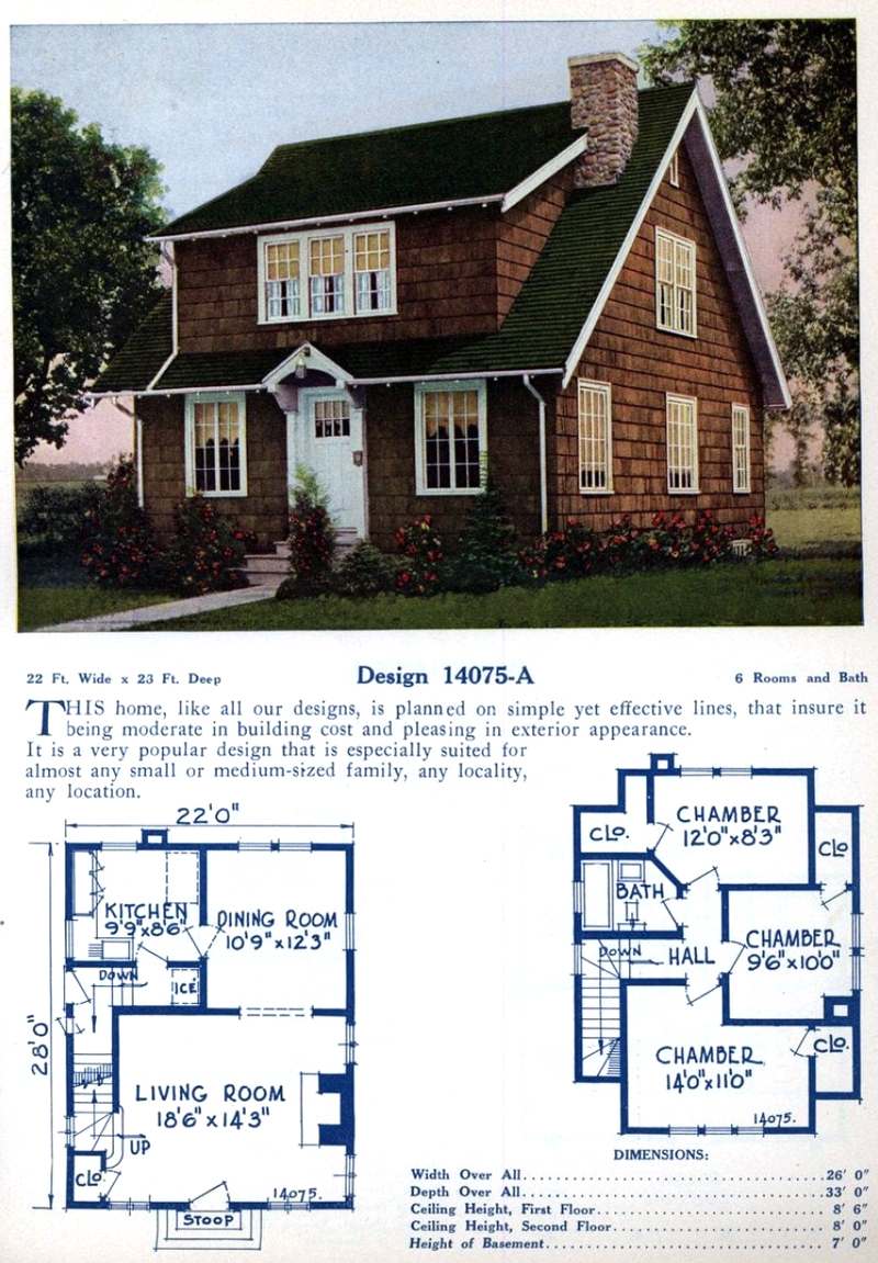Mod The Sims 1920 S Vintage Home Design 3b 1b Garage Craftsmen Style 1st In The Series In 2020 Colonial House Plans American Home Design Home Design Floor Plans
