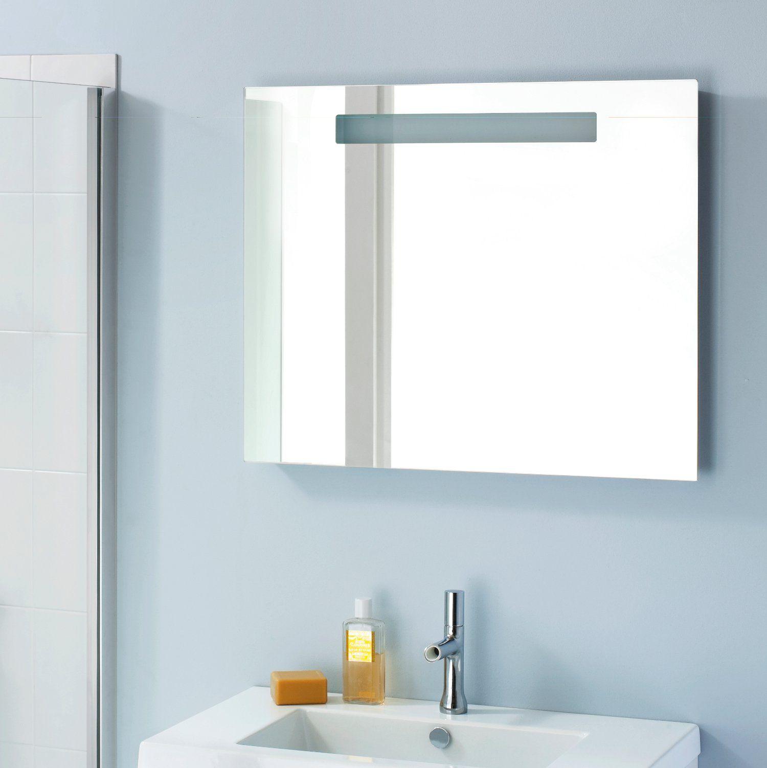 Miroir salle de bain r tro clairage led sanijura http for Miroir salle de bain retro