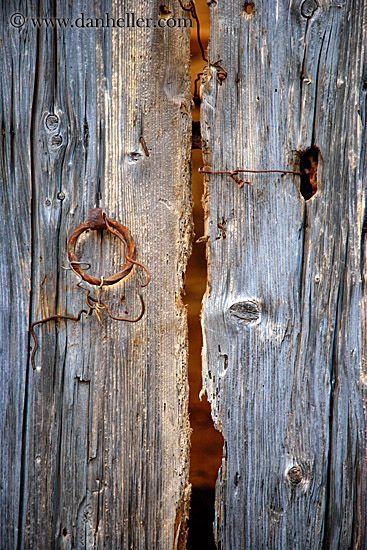 Old Cracked Door