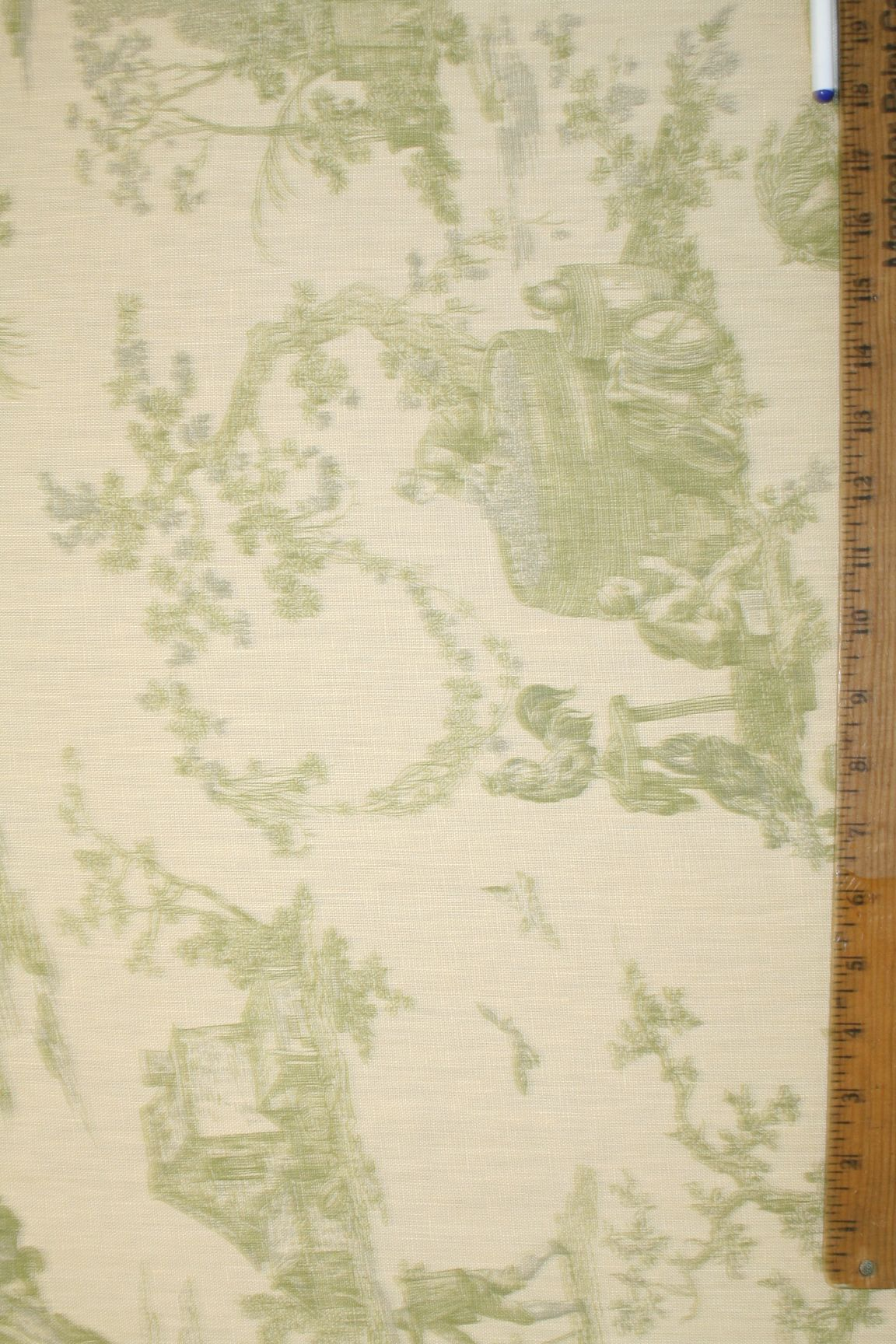 Laura Ashley Fabric | ... Of This Pure Linen Home Decor Designer Fabric From