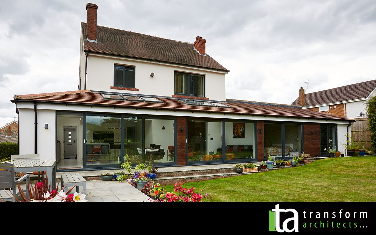 Modern garden house  Transformed A weary Cinderella home turns into a residence fit for