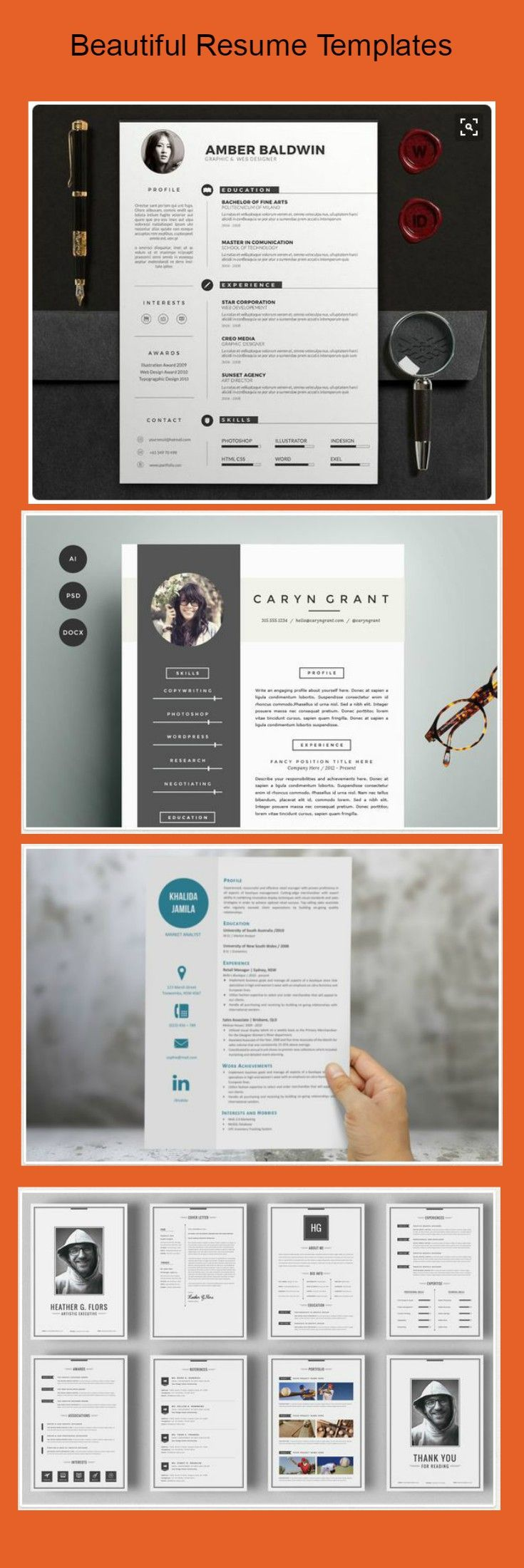 Four page resume docx Human Resources