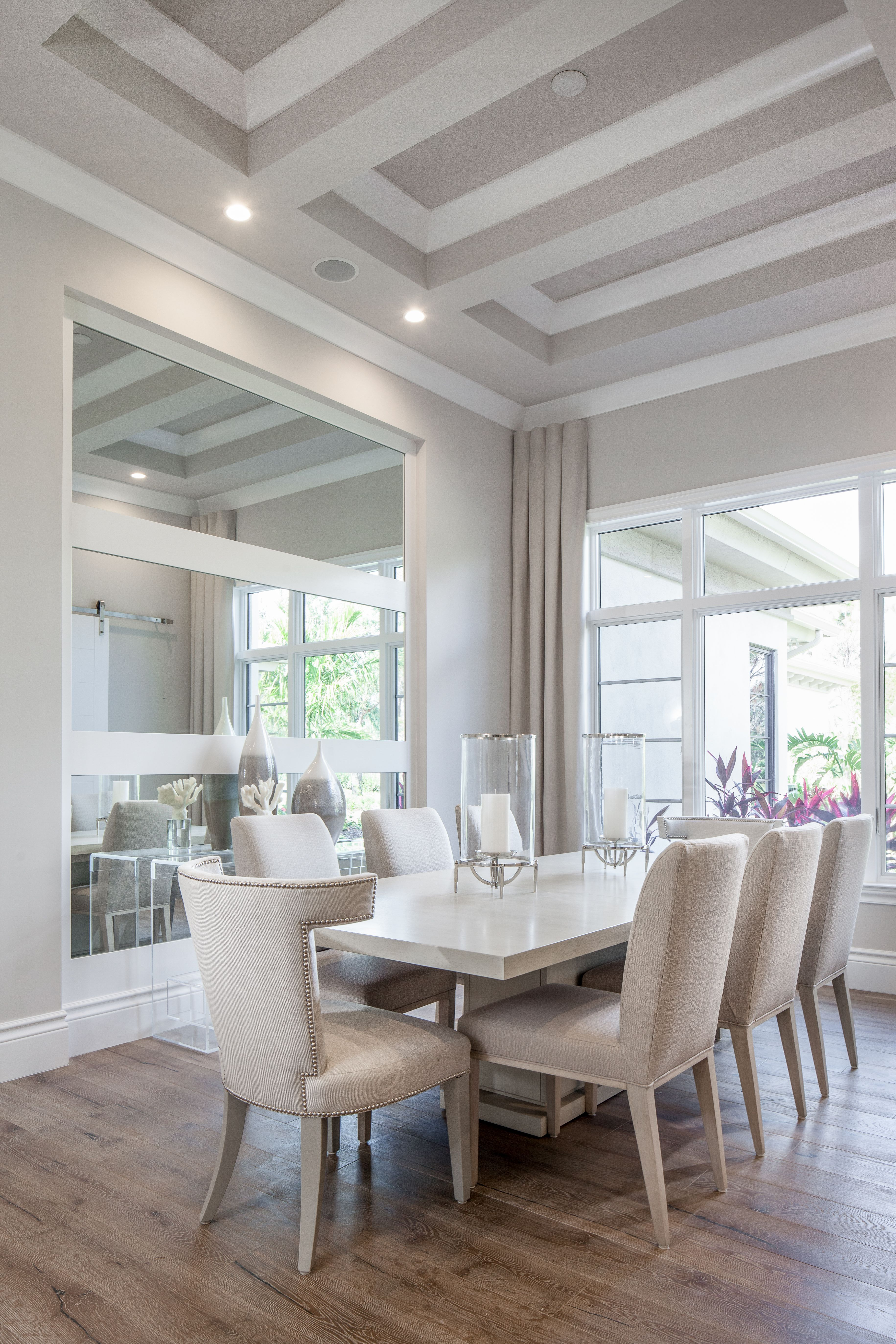 Design Of Dining Room And Living Room: This Is So Crisp Clean And Open ~ Love It!!!