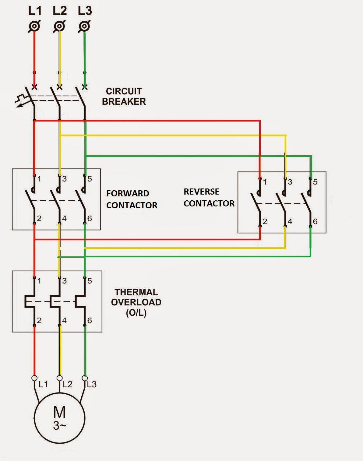 77 Unique Reversing Starter Wiring Diagram Wiring Diagram Electrical Circuit Diagram Circuit Diagram