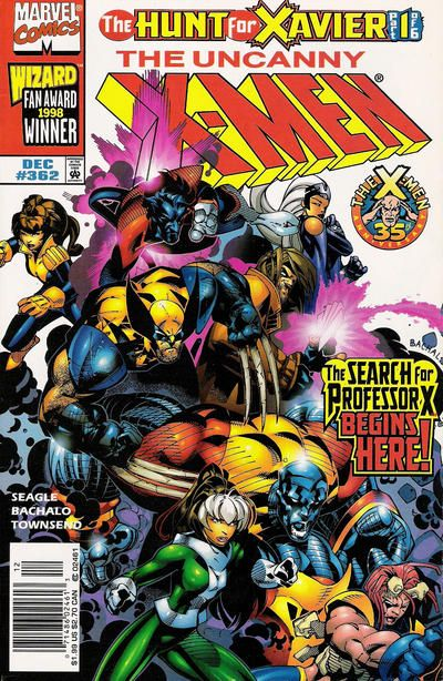Gcd Cover The Uncanny X Men 362 Comic Books Illustration Marvel Comics Covers Xmen Comics