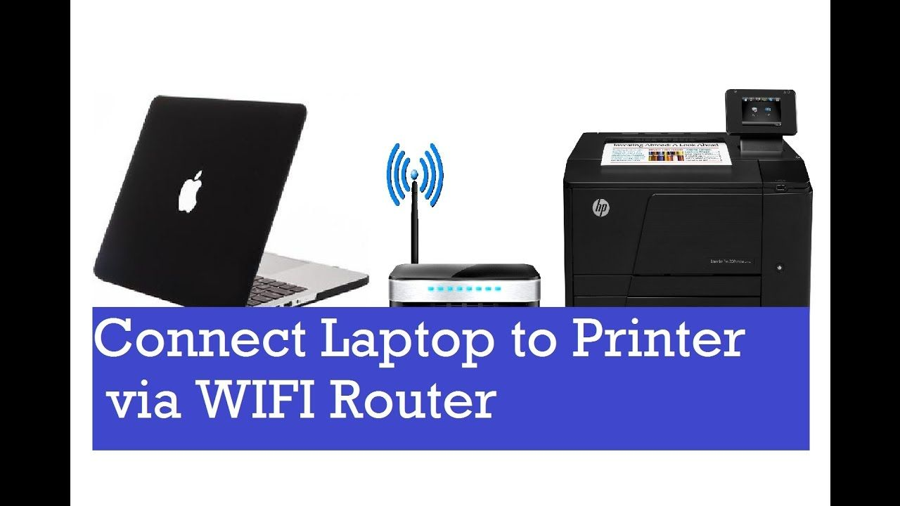 HOW TO CONNECT WIRELESS PRINTER HP How to add a network