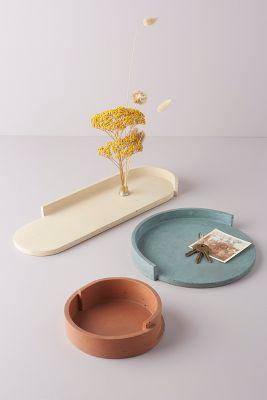 Alice Tacheny Concrete Slab Tray | Anthropologie