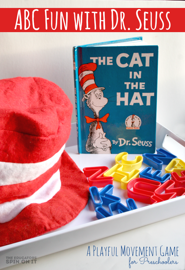 Create a Playful Letter Game with The Cat in the Hat Book