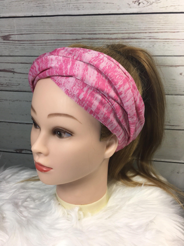 Pink Turban Headband cef21704291
