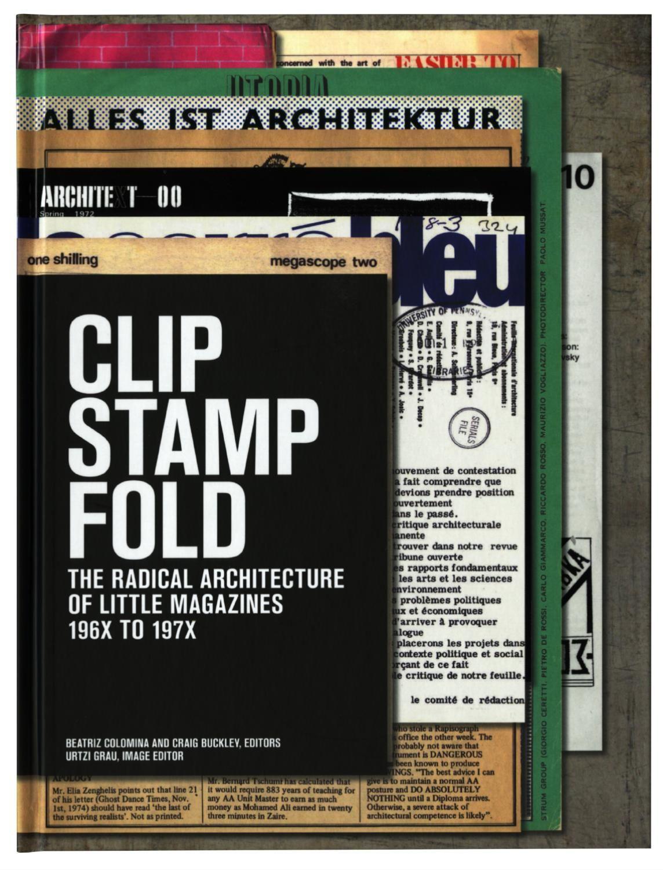 Clip Stamp Fold Book Design Stamp Magazine
