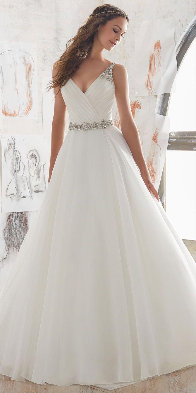 Blu by madeline gardner spring wedding dresses silhouettes