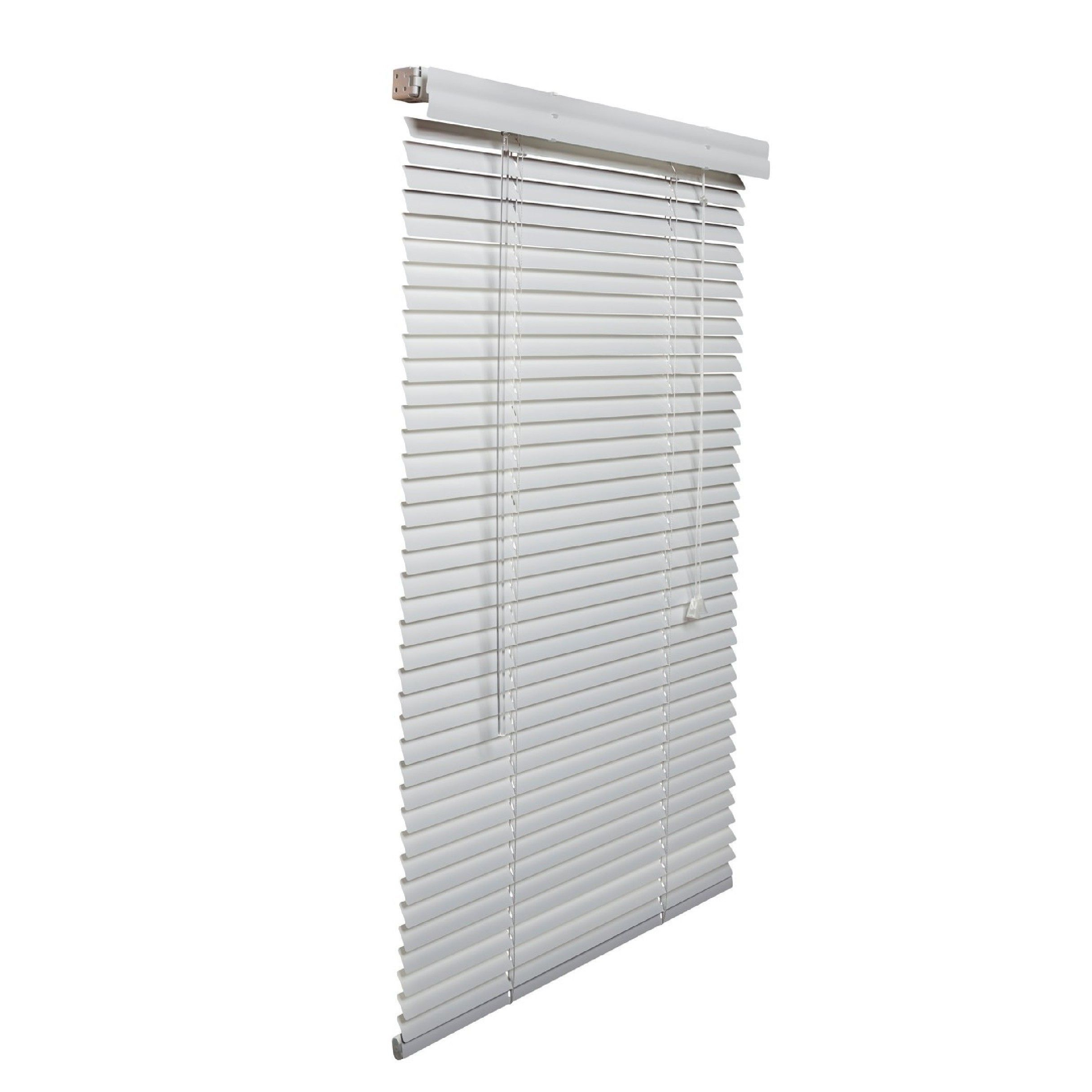 Lotus White Aluminum 1 Inch 22 To 30 Inches Wide Blinds White 30 1 2 Inches Wide X 72 Inches Long Aluminum Blinds Shades Blinds Blinds