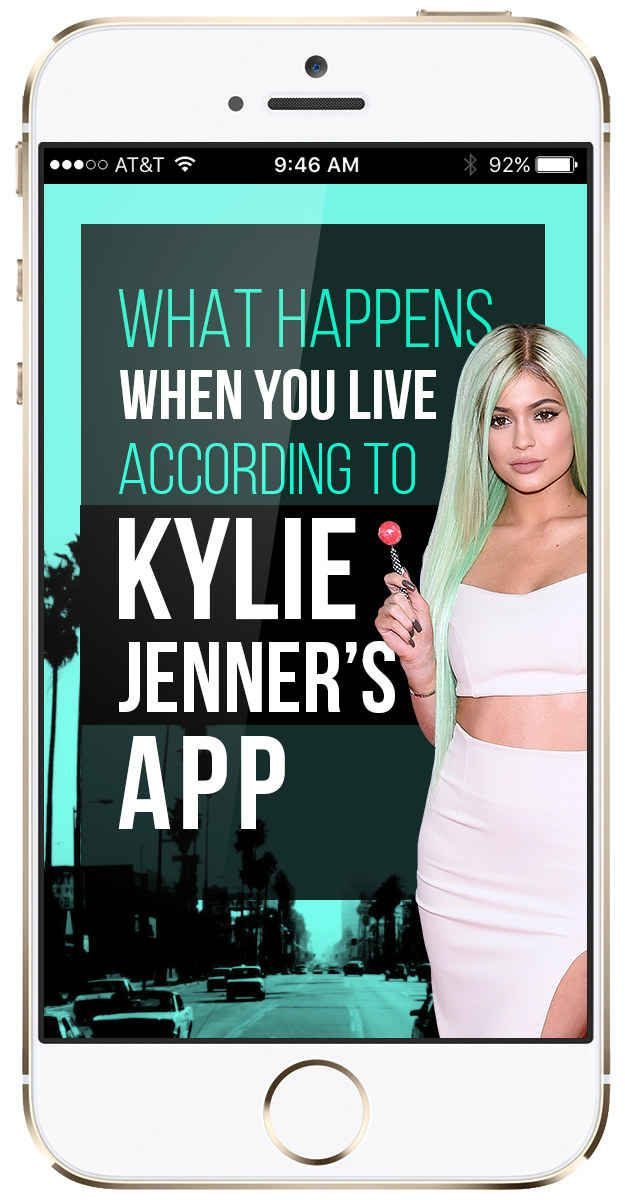 I Lived According To Kylie Jenner's App And Here's What Happened