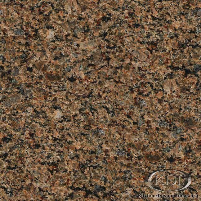 Copper Brown Granite Kitchen Countertop Ideas Brown Granite Granite Granite Kitchen