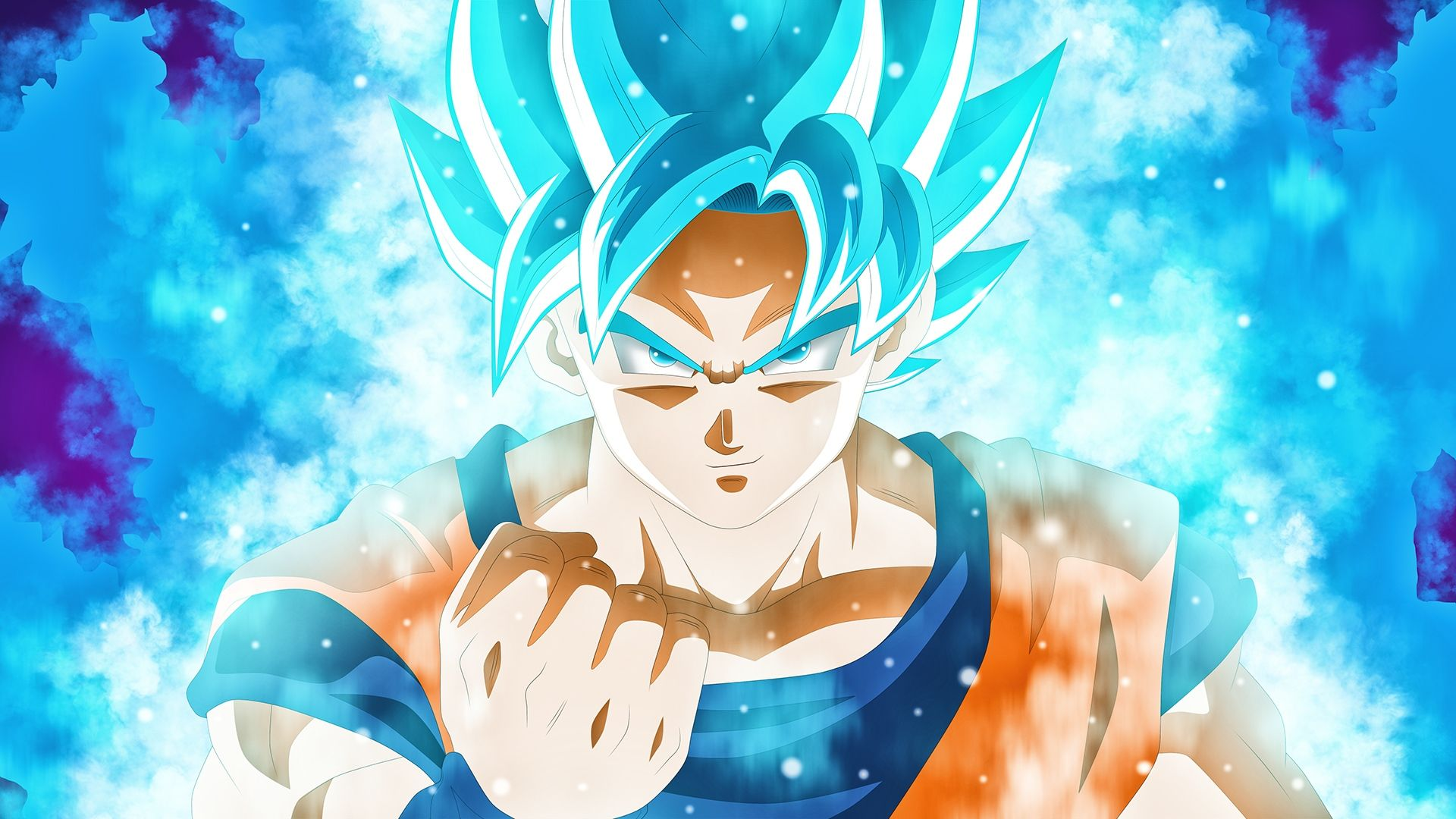 Goku, Super Saiyan Blue, Dragon Ball Super Anime, Anime