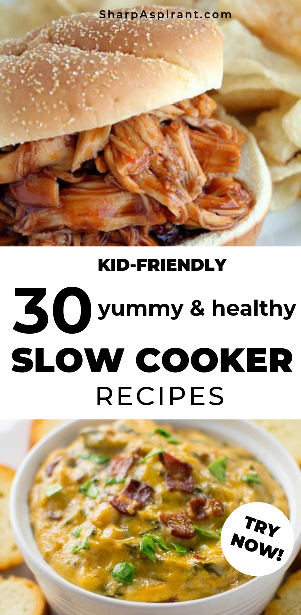 Slow Cooker Recipes: 30 Healthy Meals Kids Will Love! images