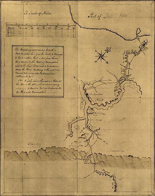 George Washington And His Maps Washington Maps And The Ojays - Map of us when george washington was president