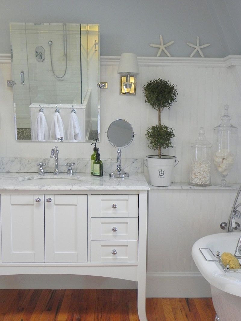 Fairmont designs shaker vanity customer setting bathroom vanities