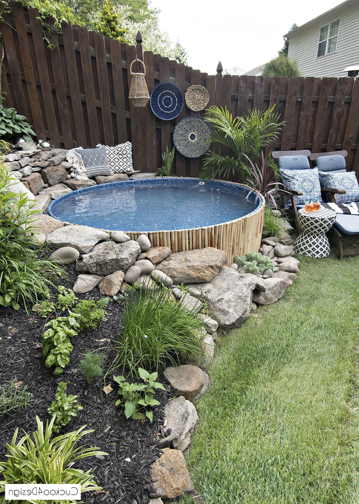Amazing Pool Ideas Perfect For Small Backyards Amazing Backyards For Ideas Perfect P Sloped Backyard Landscaping Small Yard Landscaping Sloped Backyard