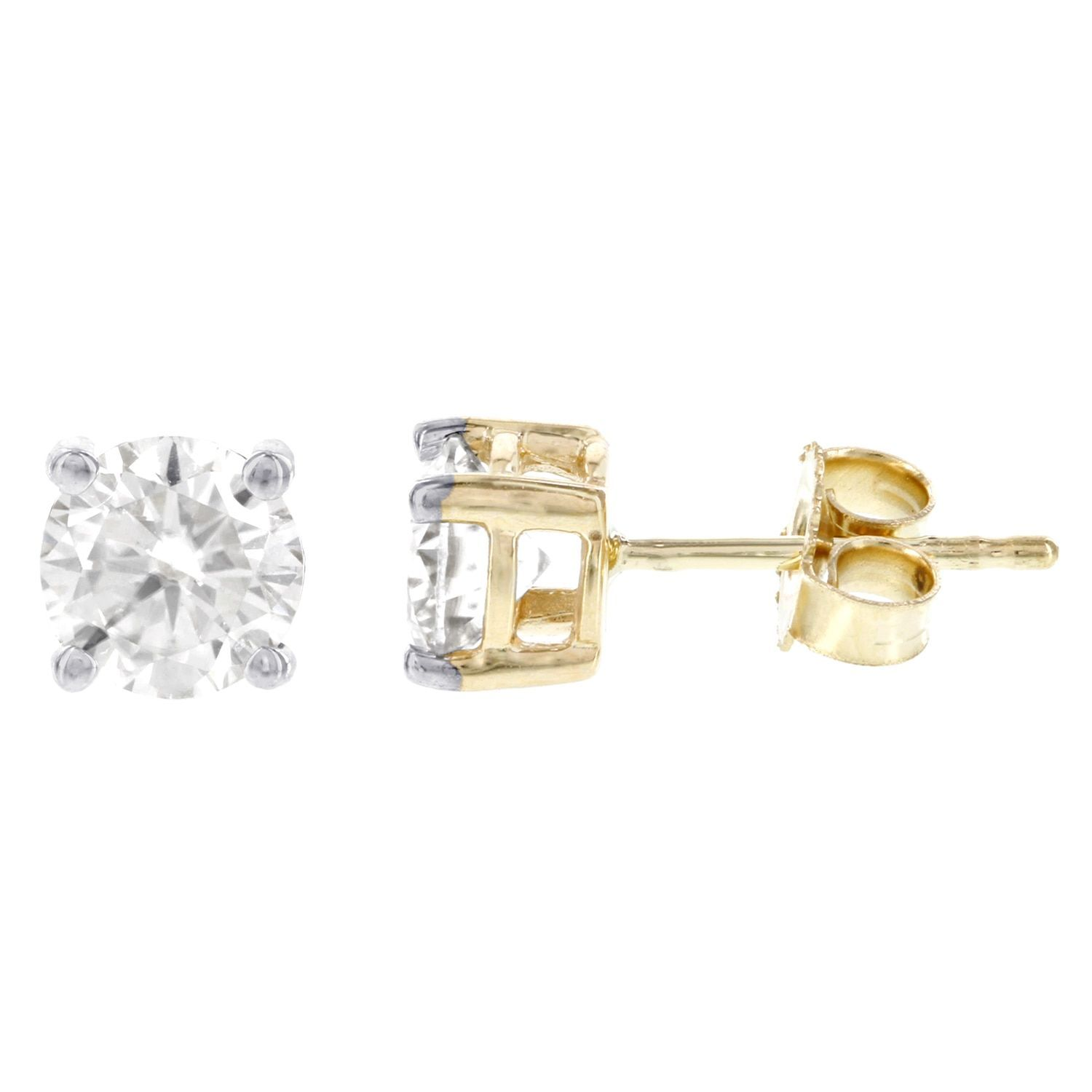 earrings diamond studs poshclassymom colvard ideas moissanite gift stud charles valentines day and