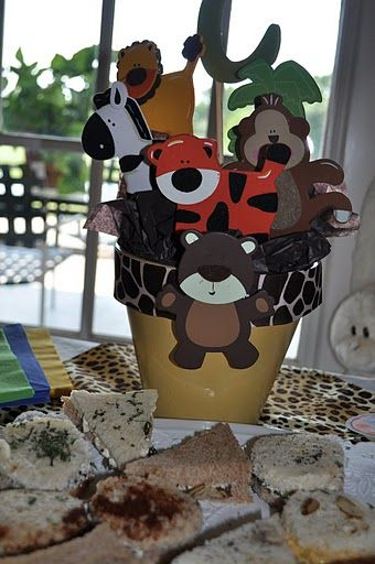 Jungle Theme Baby Shower Paper Products Google Search Crafty