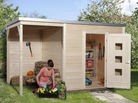 abris de jardin moderne | remise jardin | Pinterest | Gartenhäuser ...