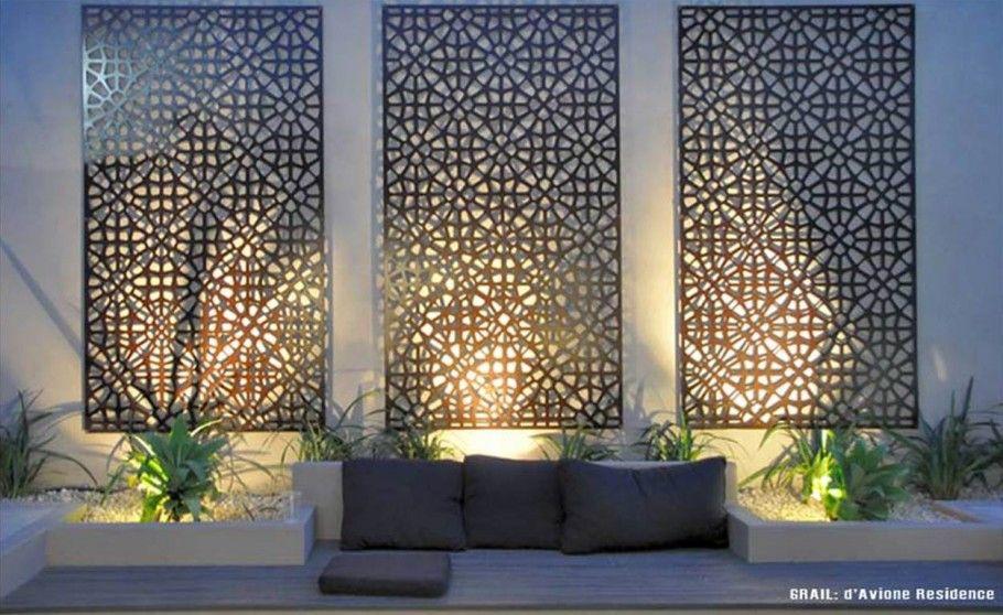 Decorative Screens Garden Wall Decor Outdoor Wall Art Outdoor