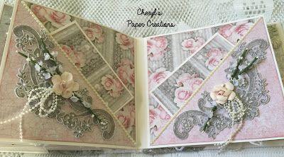 For Sale Stamperia Wedding Album Design Project For Tresors De
