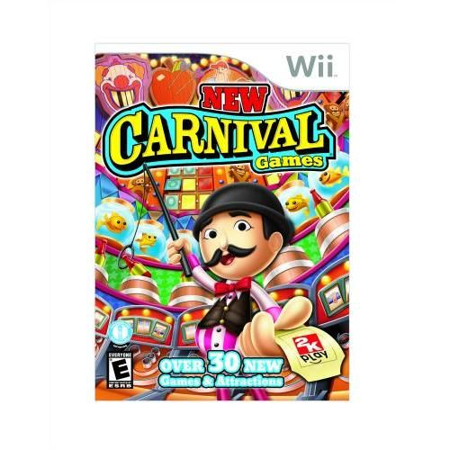 New Carnival Games Nintendo Wii New Carnival Games