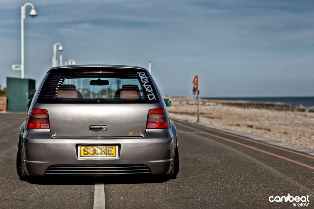 Shaved Hatch 3 Volkswagen Vw Golf Mk4 Vw Golf