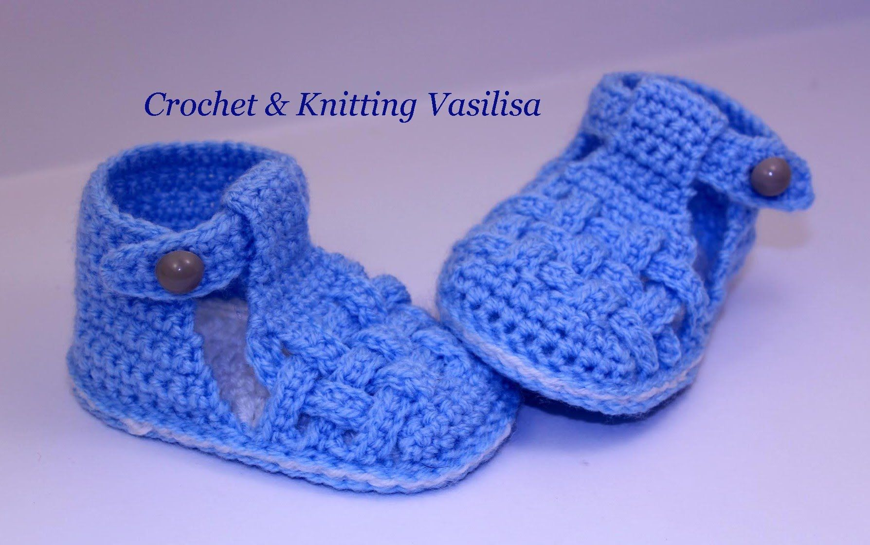 DIY crochet sneakers tutorial baby booties baby booties sandals ...