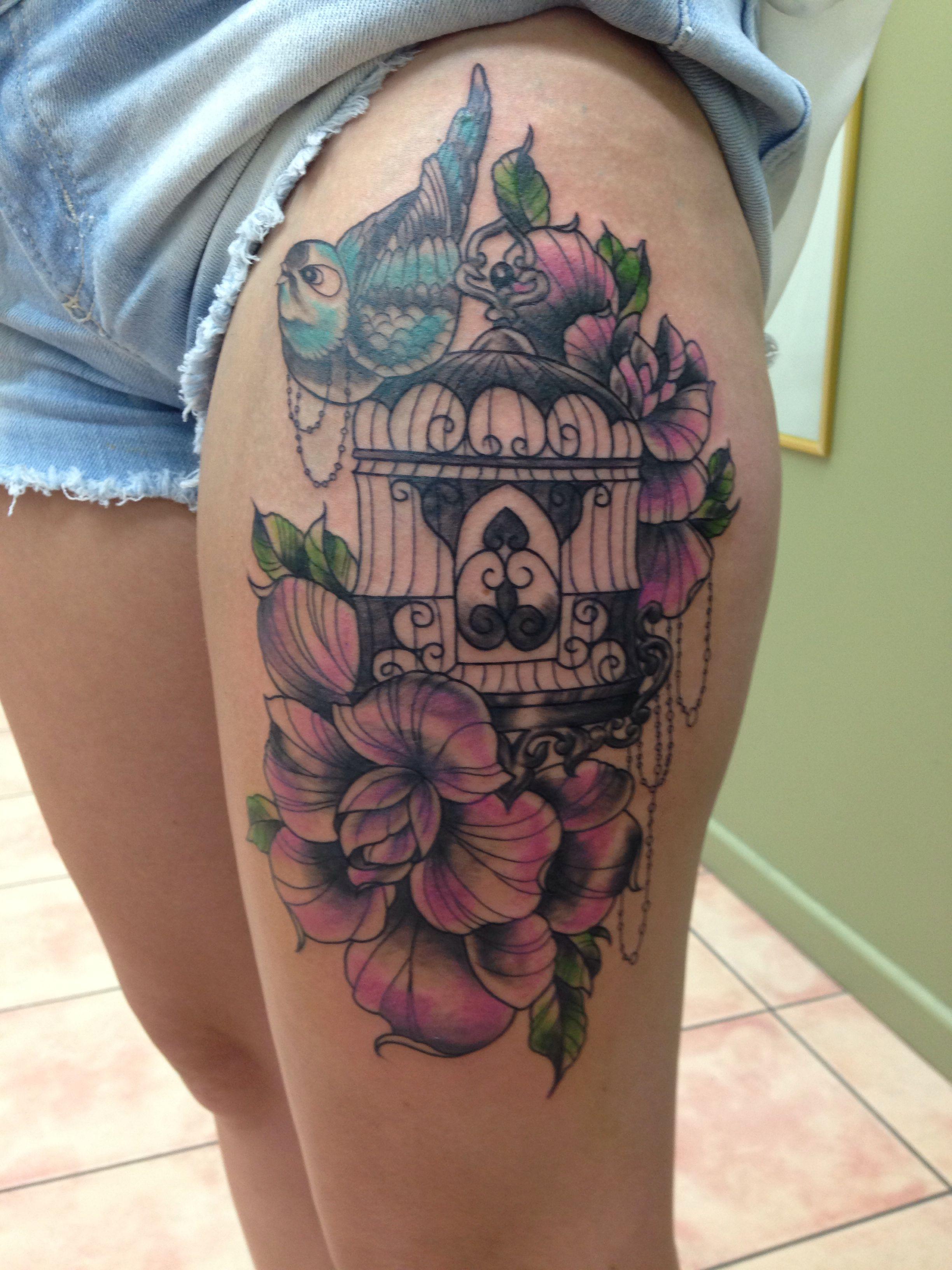 Leg tattoo Leg tattoos, Tattoos, Flower tattoo