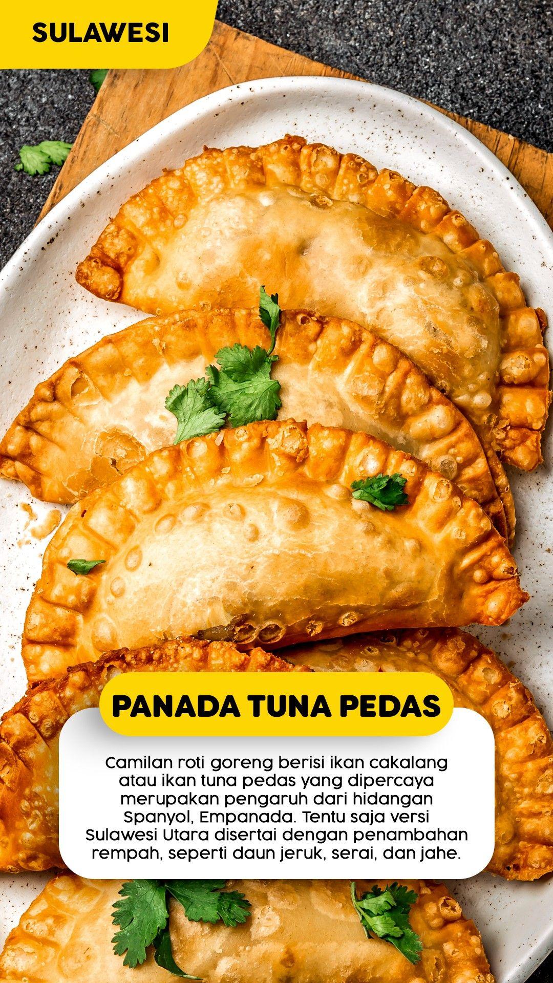 Resep Panada Tuna Pedas Makanan Empanada Camilan