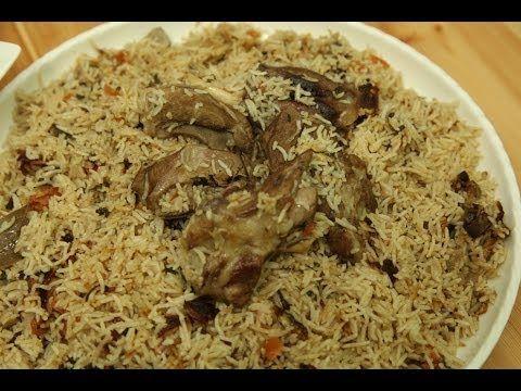 طريقة عمل برياني اللحم من زيتونة Recipes Palestinian Food Cooking