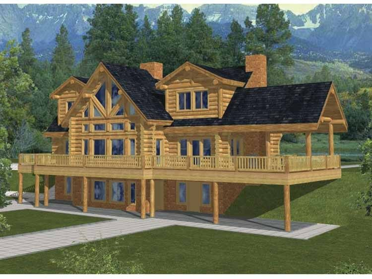 Traditional Style House Plan  Ft Plan  117