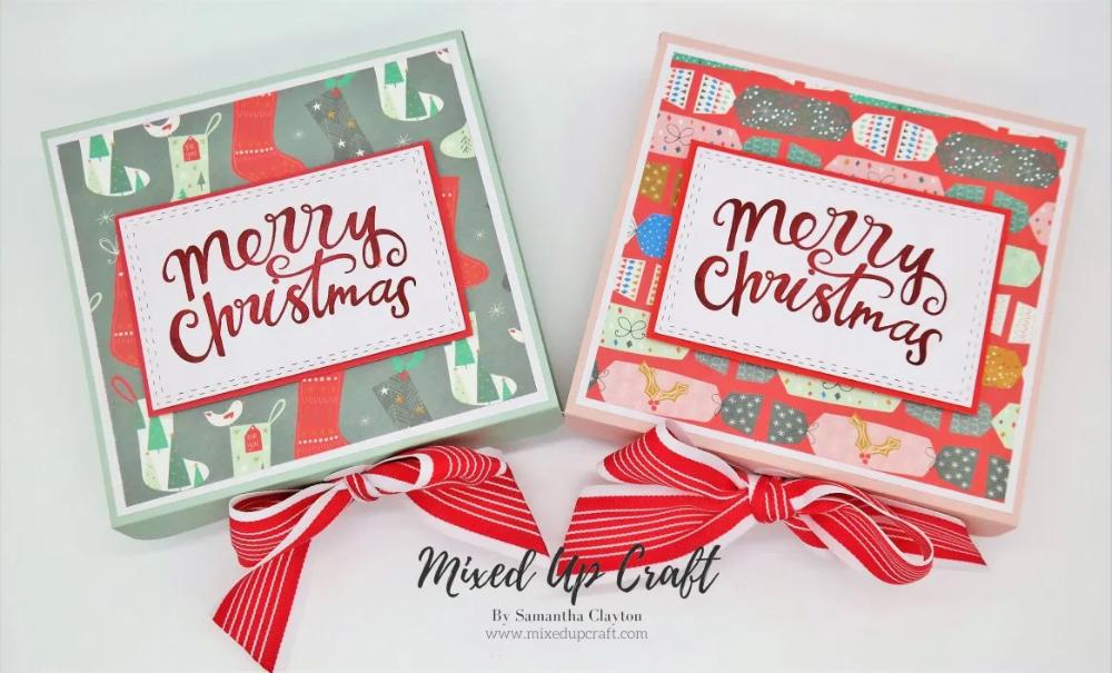 Reinforced 6 X 6 Christmas Gift Box Christmas Gift Box Gift Box Design Christmas Gifts