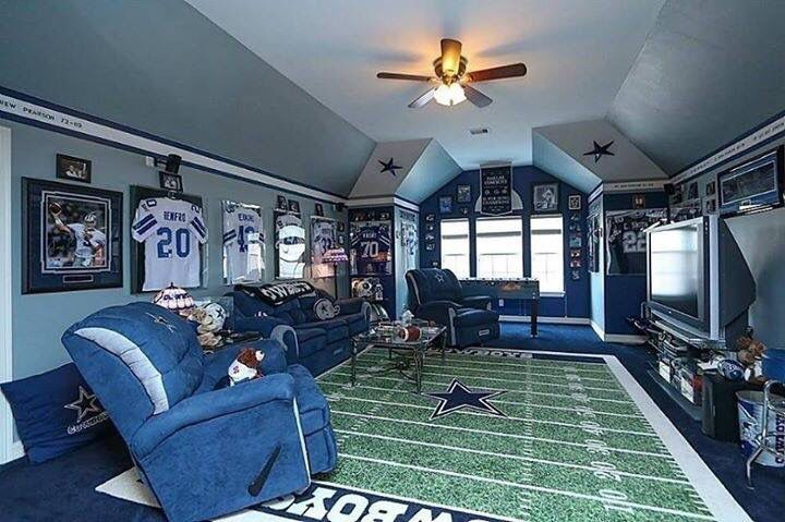 Dallas Cowboys Living Room