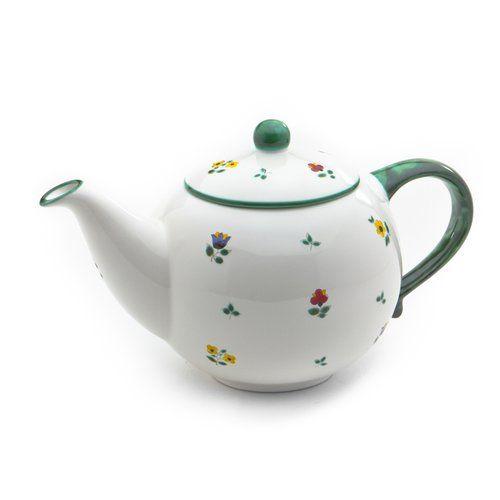 Streublumen Ceramic Teapot Gmundner Keramik Size 1 5 L Ceramic Tea Set Ceramic Teapots Tea Pots