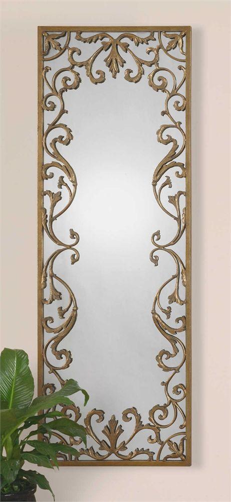 decorative gold mirrors. Hang horizontally Uttermost Apricena Decorative Gold Mirror