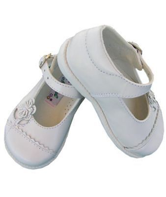 Girl leather white mary janes shoes mary janes pinterest mary these traditional girls white leather shoes will finish off any carouselwear outfit durable leather top with white rubber soles mightylinksfo
