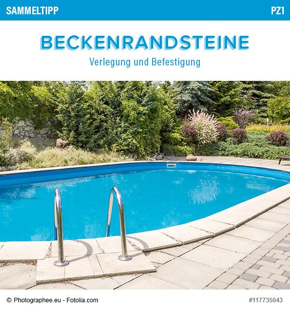 Sehr Gut POOLSANA Sammeltipp Nr. 7: Beckenrandsteine - Verlegung und  RI92