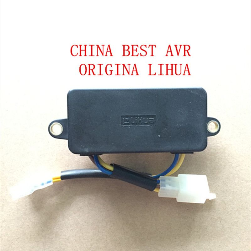 Lihua Automatic Voltage Regulator For Generator Spare Parts Lihua Avr 2kw 2 5kw 3kw 220v Single Phase Generator Voltage Regulator Generator Parts Spare Parts
