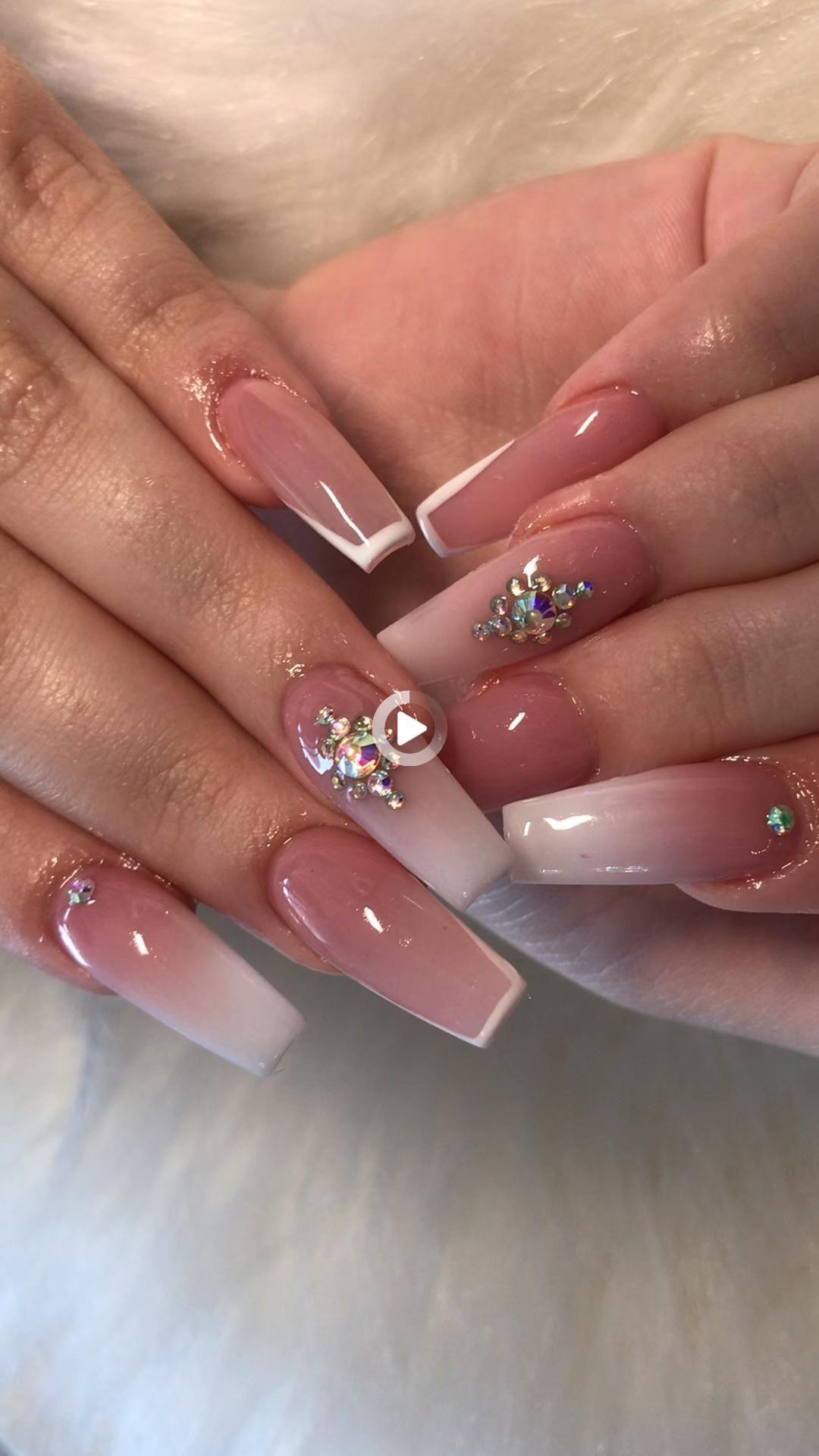 Ballet Slipper nails | Nails, Ballerina nails, Trendy nails