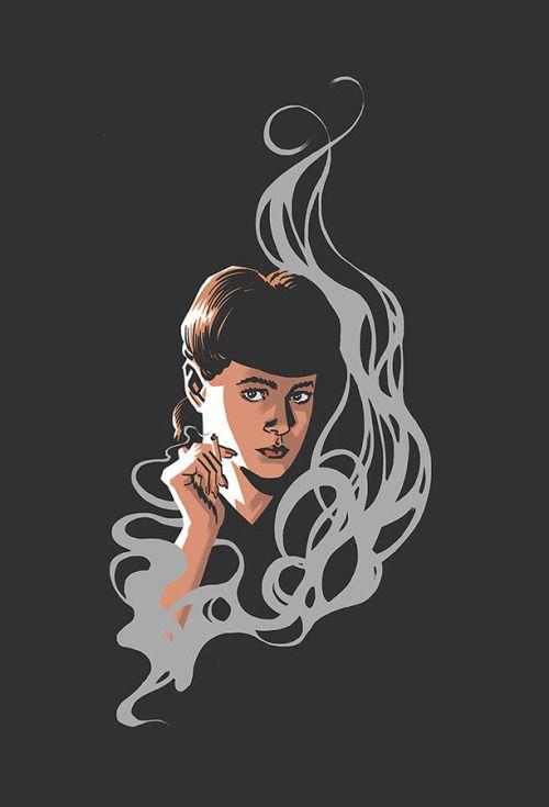 Blade Runner's Rachael by Greg Smallwood  #BladeRunner