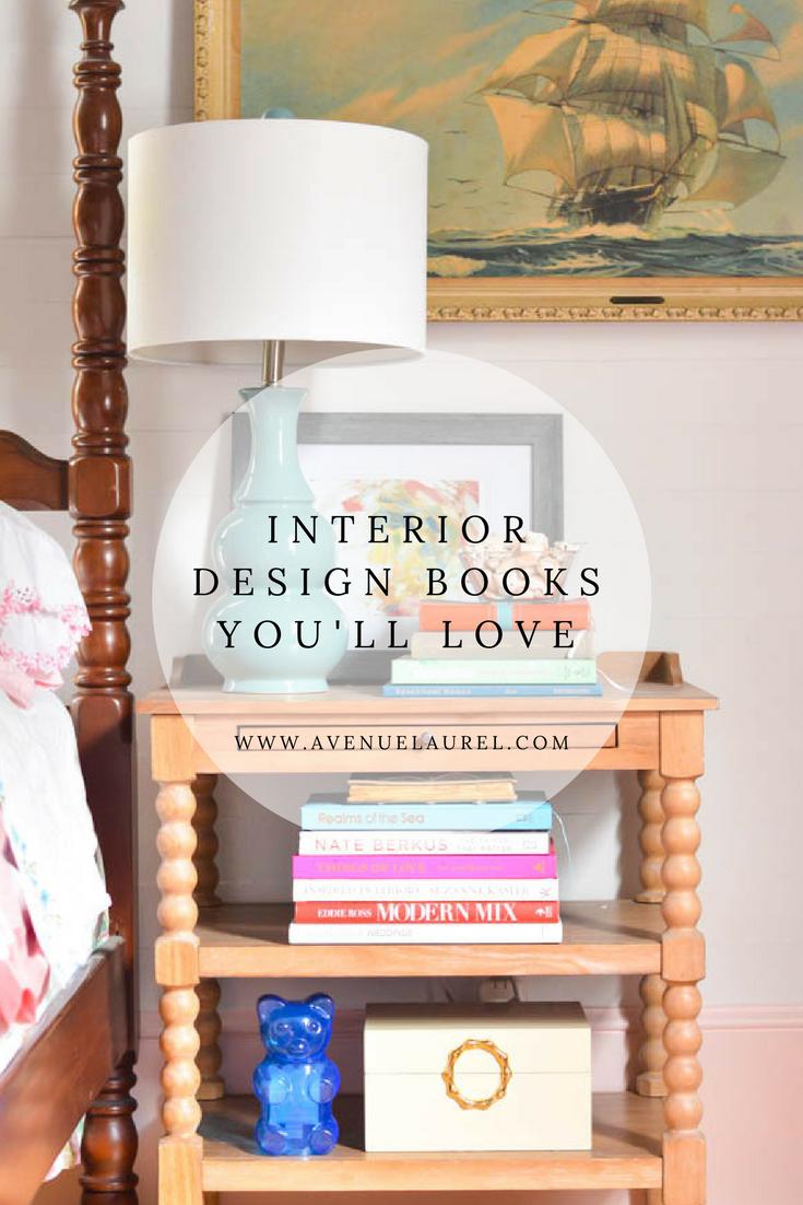 Interior design books you need in your life • Avenue Laurel