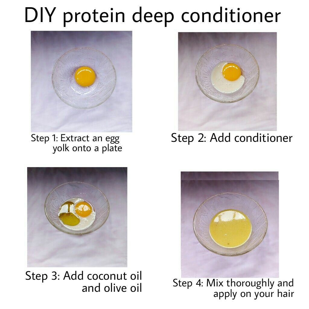 Diy Egg Protein Treatment For Natural Hair And Relaxed Hair Natural Hair Treatments Diy Hair Treatment Protein Hair Mask