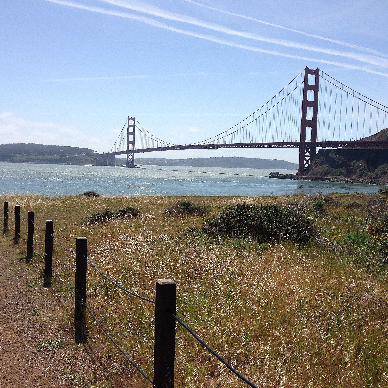Cavallo Point walk #sanfrancisco #walks #northern california