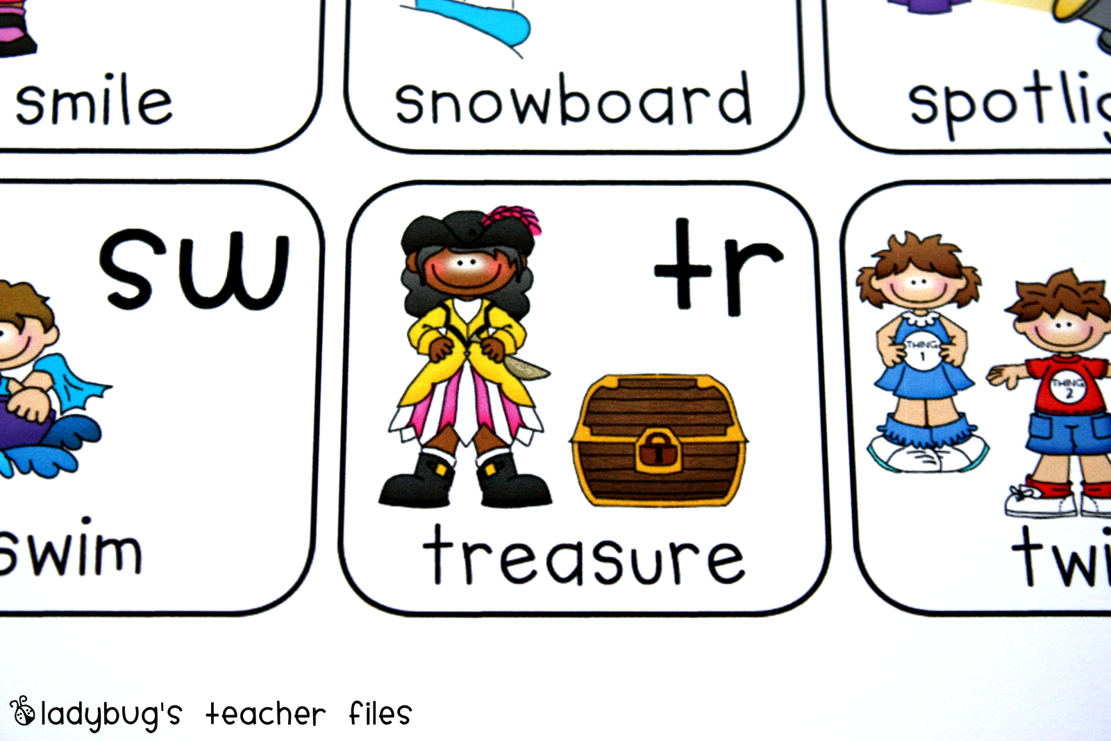 Consonant Blends Chart Printable With Images